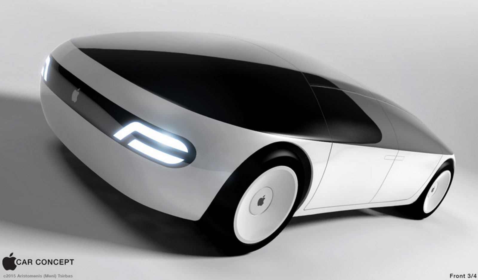 Concepto de diseño de coche de Apple (Apple Car)