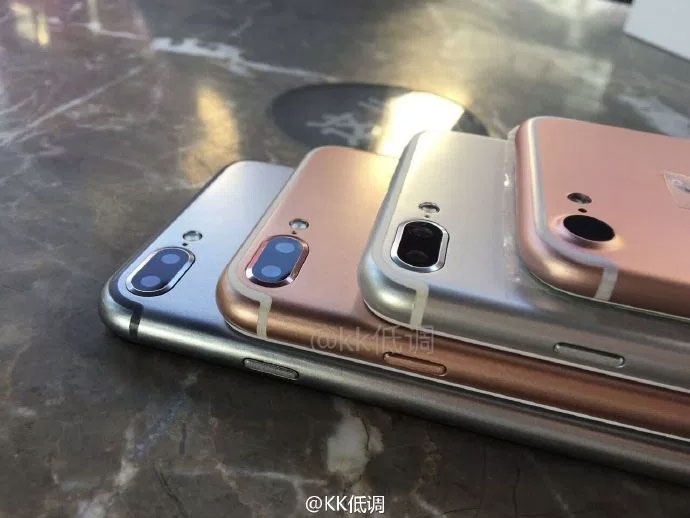 Posible cámara doble del iPhone 7 Plus o Pro