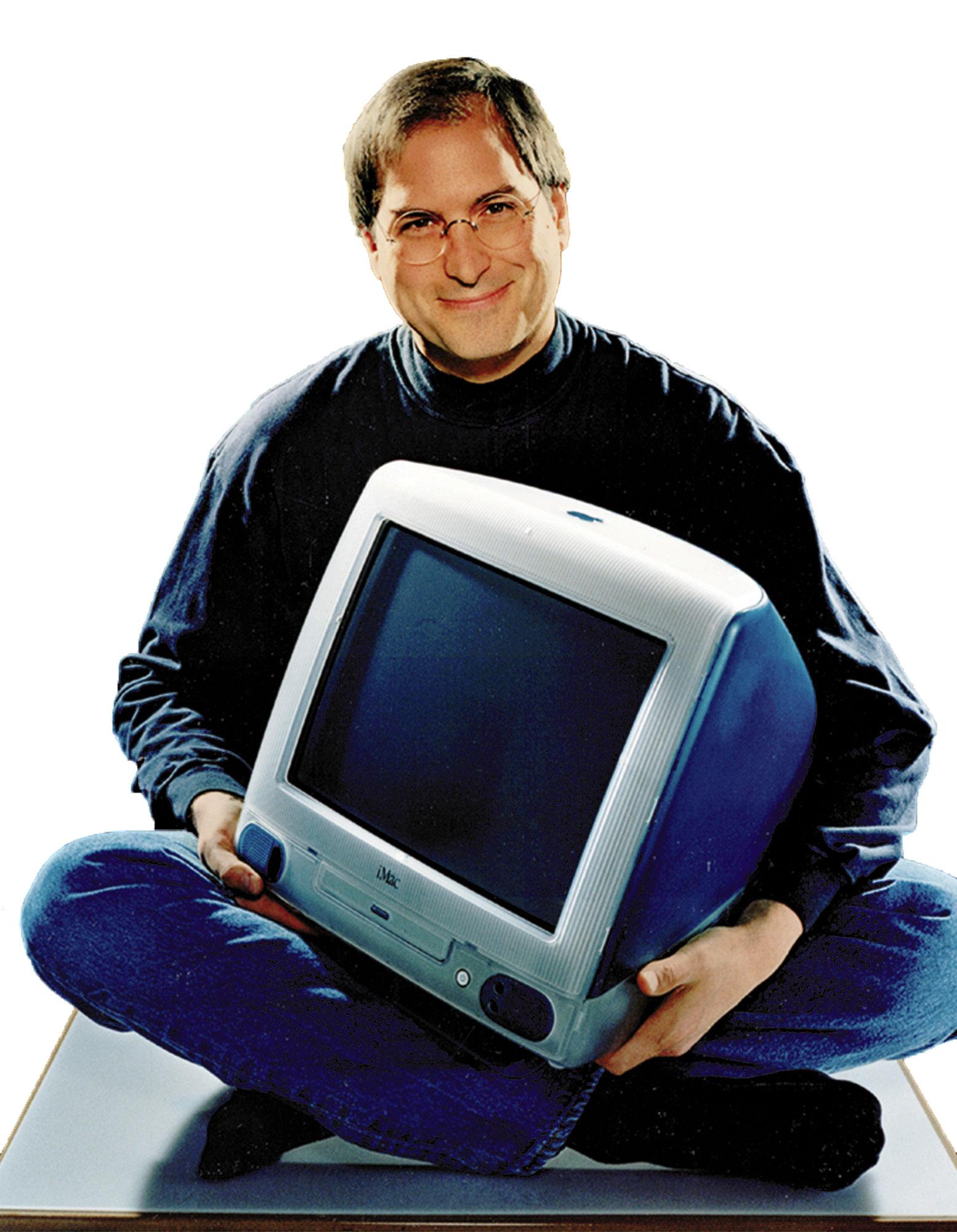 Steve Jobs con el iMac G3