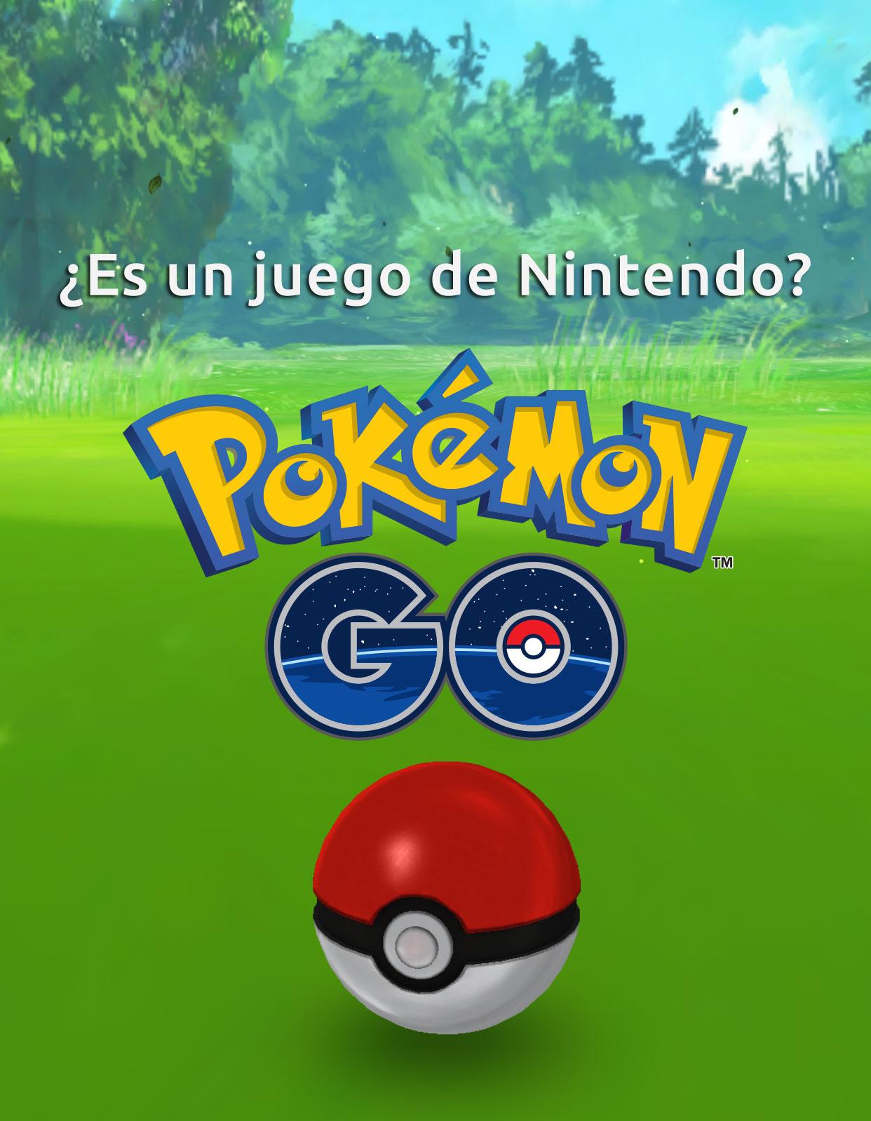 ¿Es Pokémon Go un juego de Nintendo?