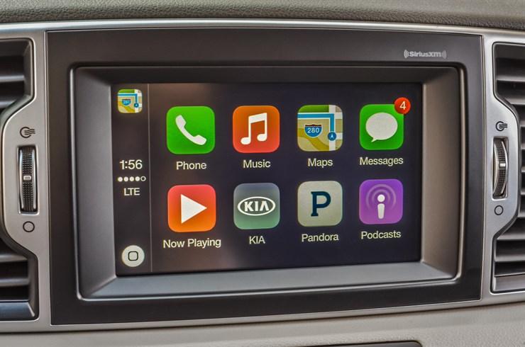 Apple Car en un 2017 Sportage SX Turbo
