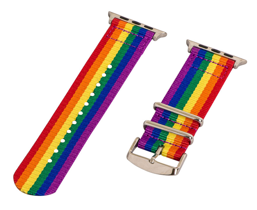 Correa arcoíris para el Apple Watch
