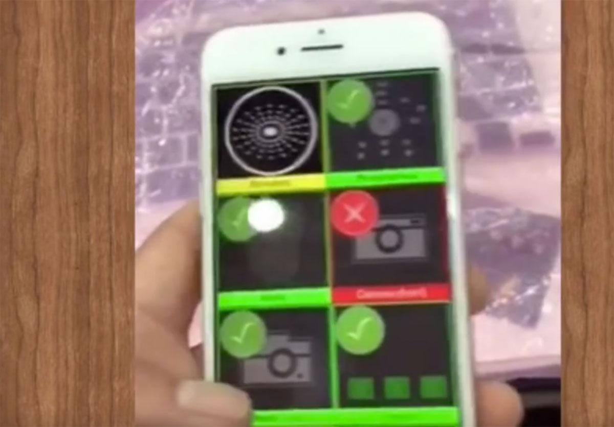 Supuesto prototipo de iPhone 7