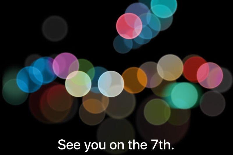 Nos vemos el día 7 de Septiembre: Keynote de Apple