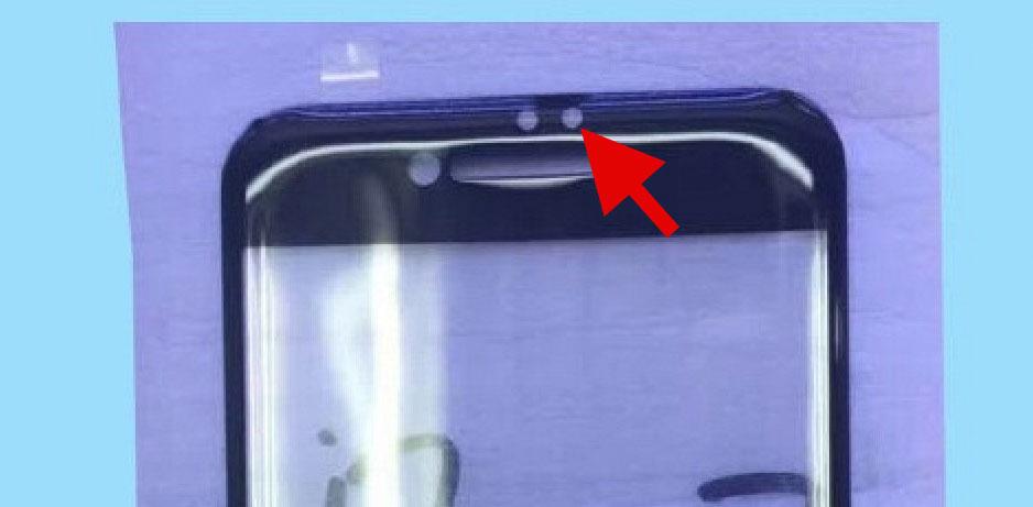 Nuevo orificio en el supuesto cristal del supuesto iPhone 7