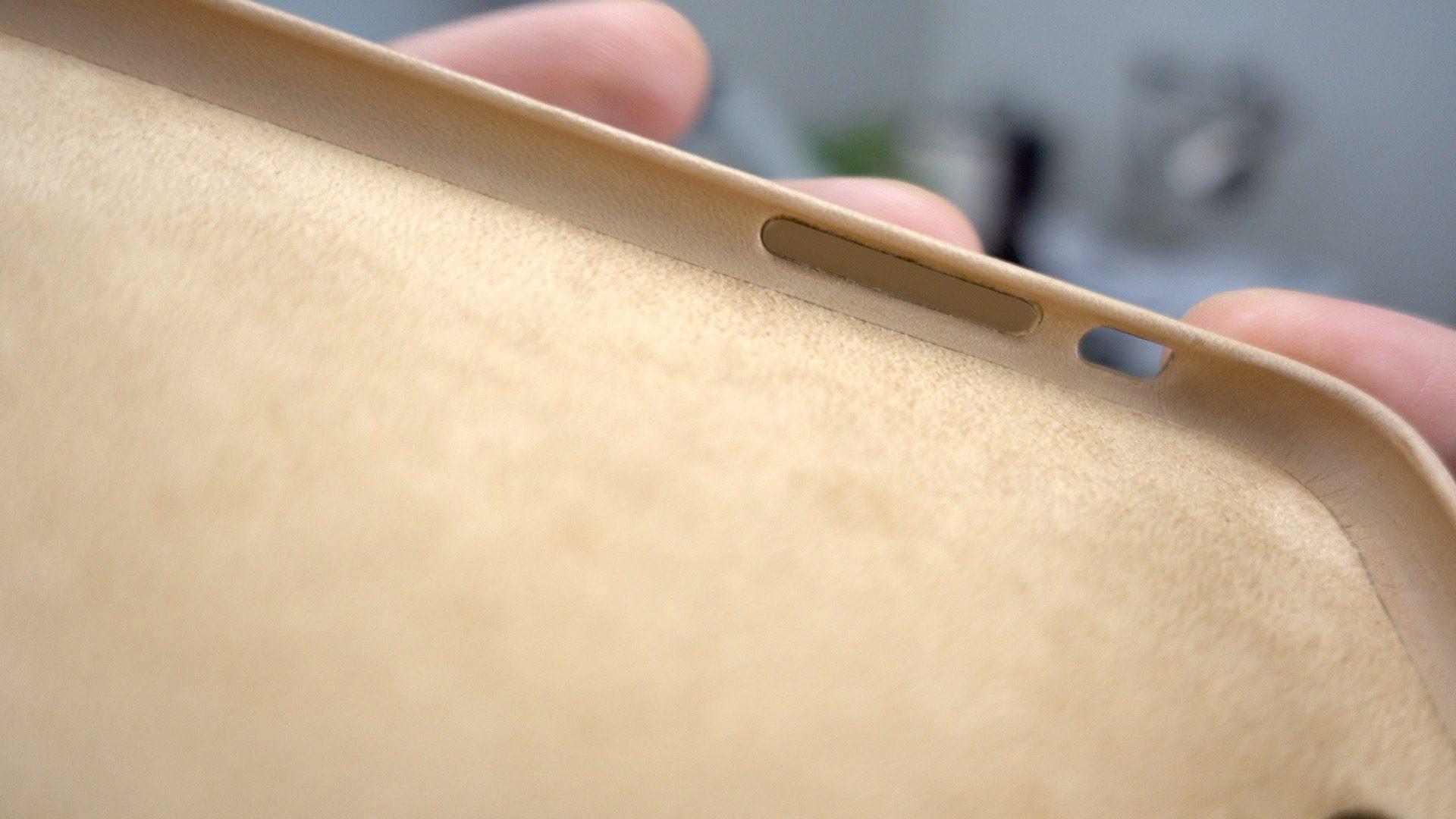Funda de cuero para el iPhone 7