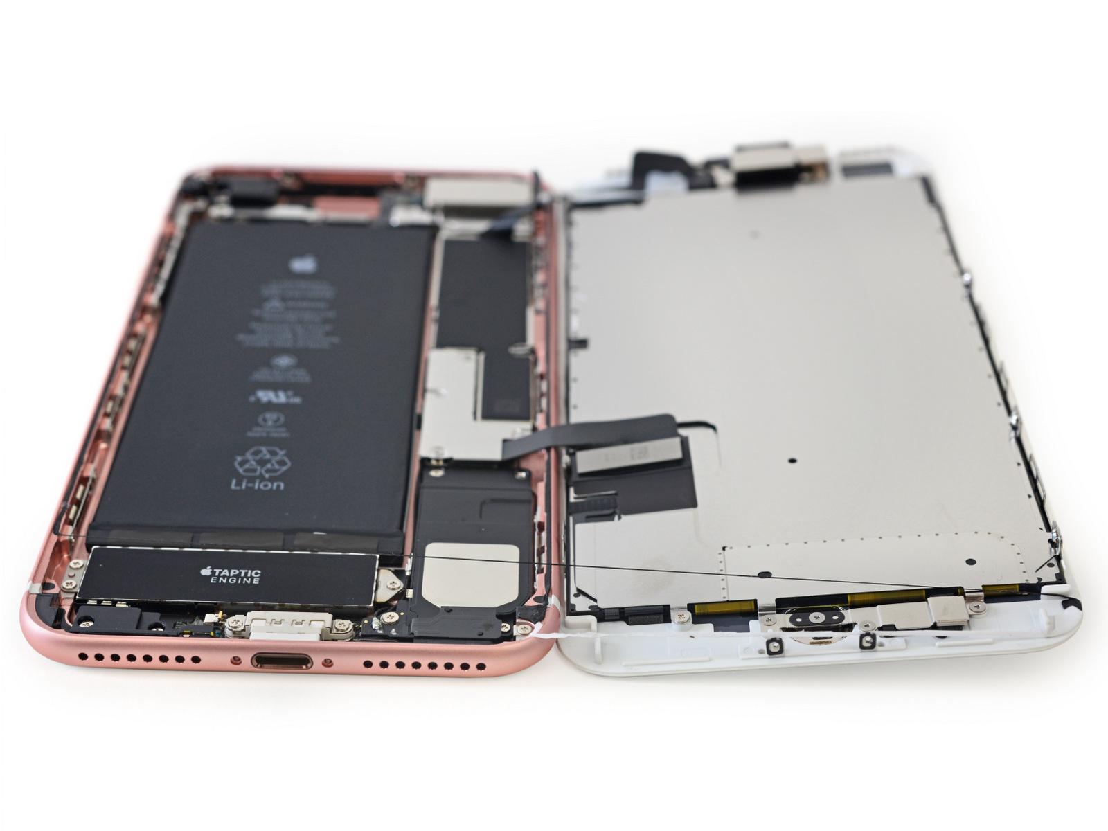 iPhone siete Plus por dentro