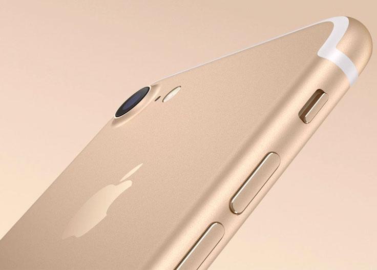 iPhone 7 dorado