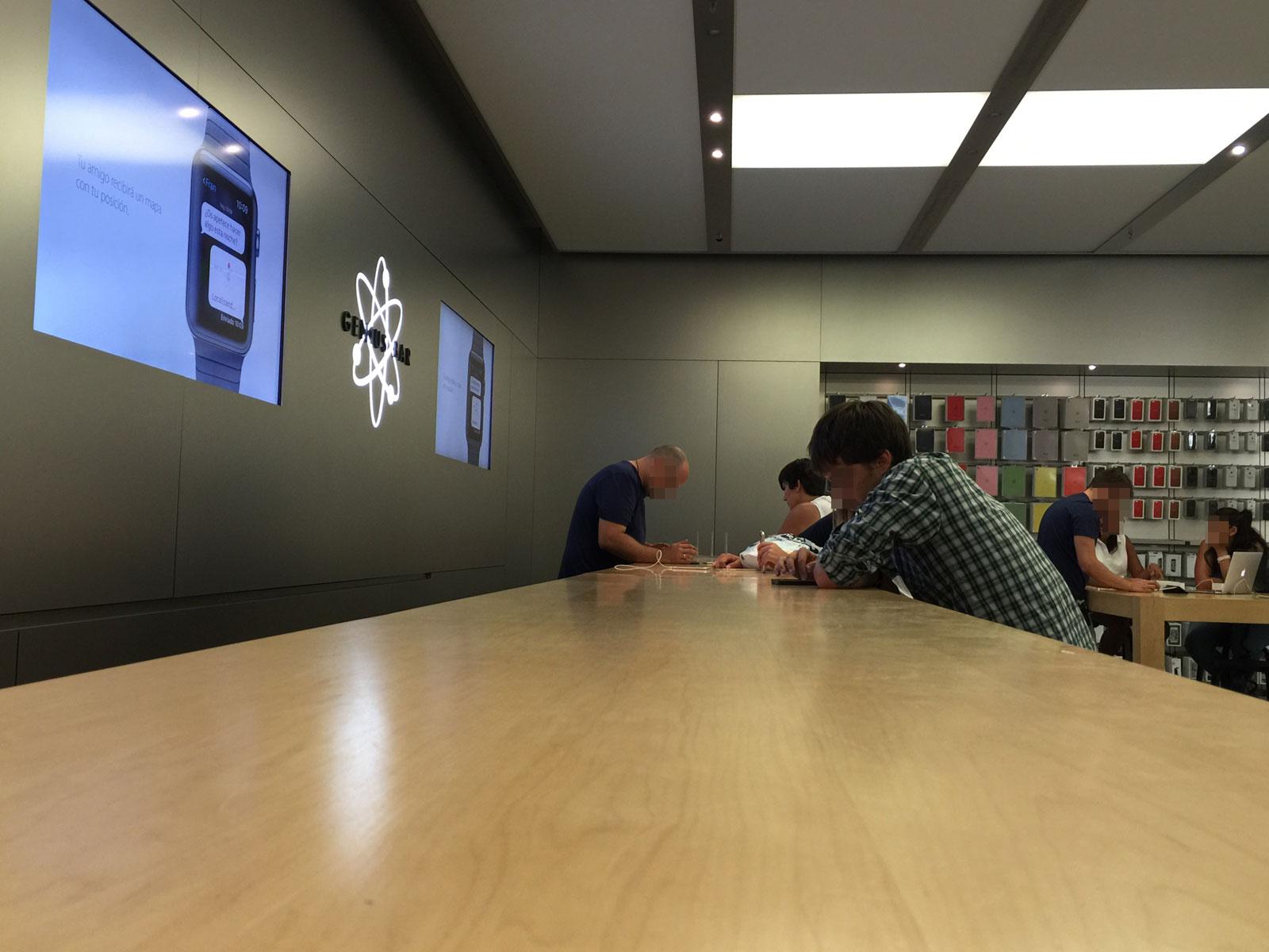 Genius Bar en una Apple Store