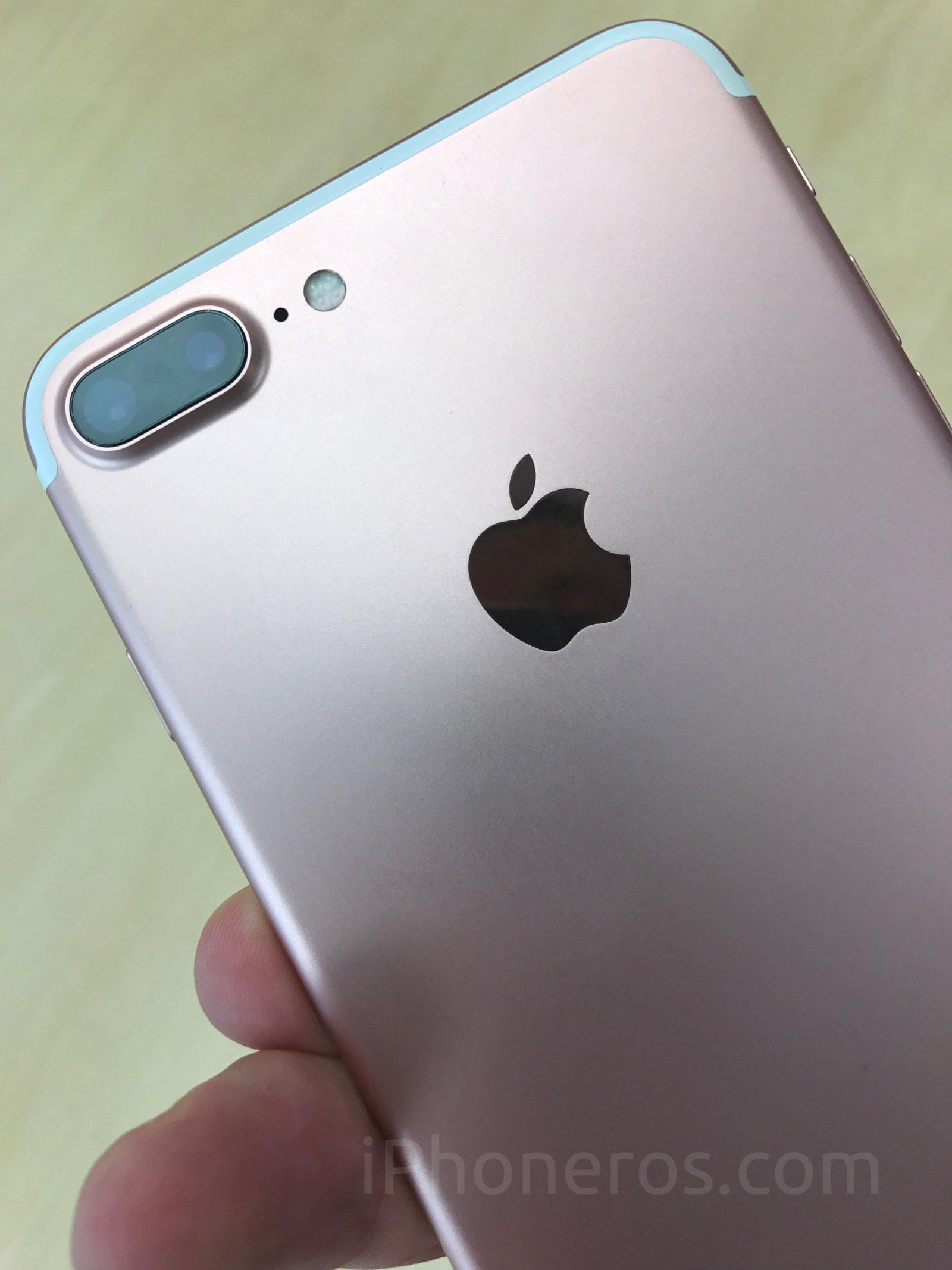iPhone siete Plus dorado
