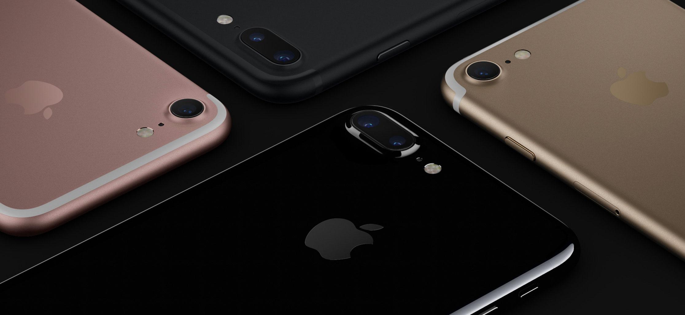 Colores de las antenas del iPhone 7