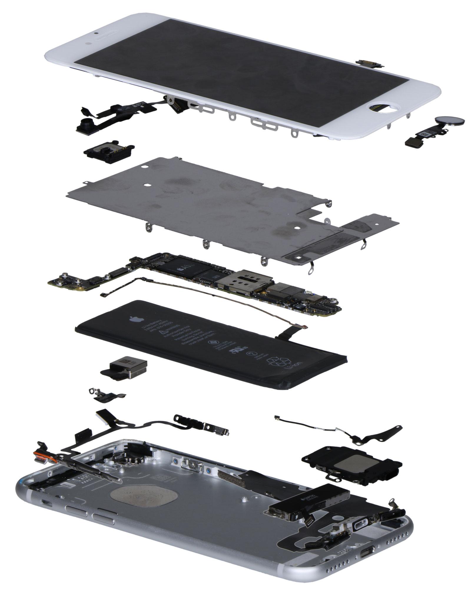 Componentes del iPhone 7