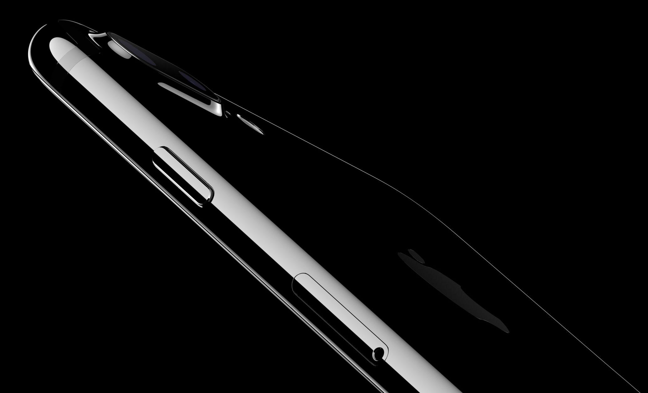 iPhone 7 negro Jet Black