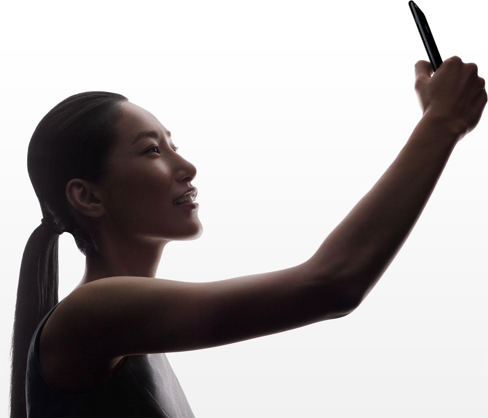 Haciéndose un Selfie con el iPhone 7