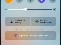 Modo Avión en iOS 10
