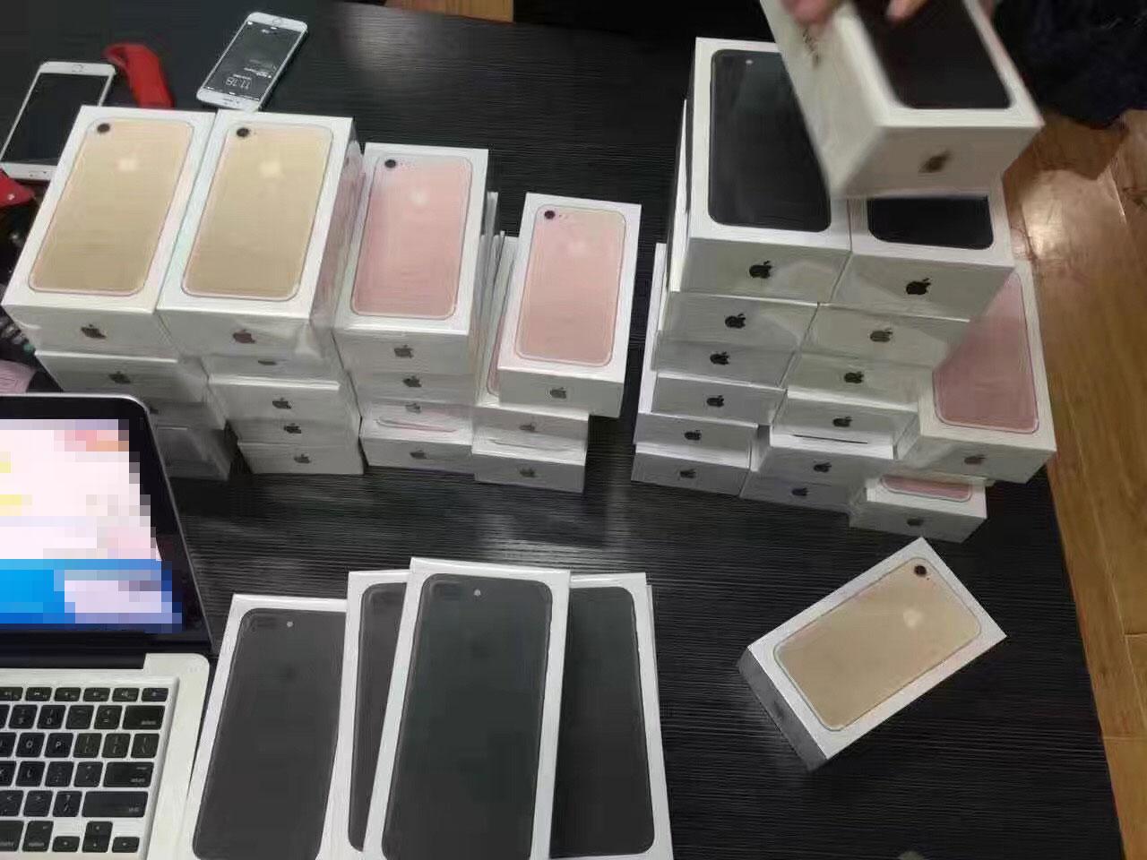 iPhone 7 desviados para clientes VIP en China