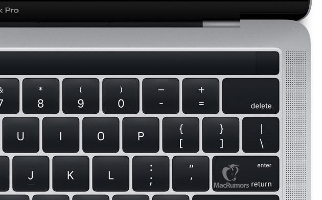 MacBook Pro con Magic Toolbar