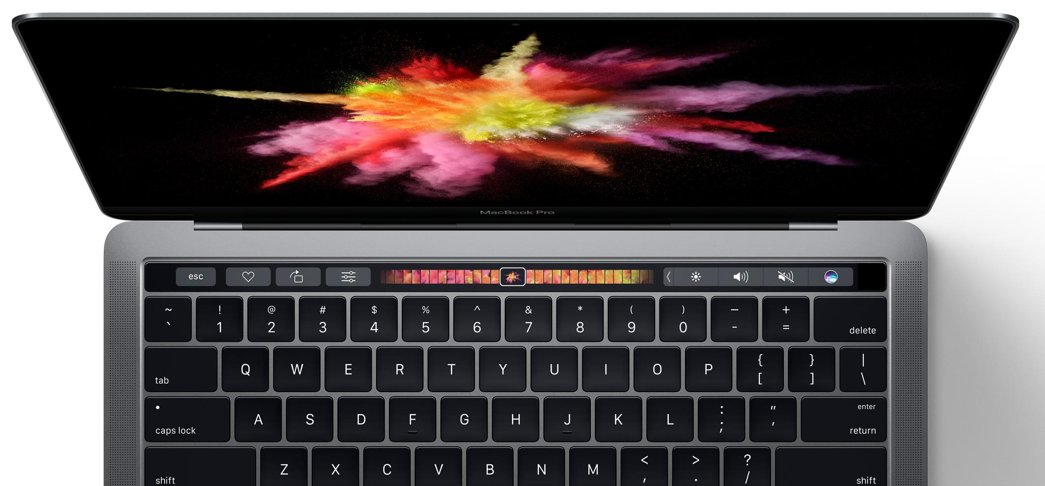 Presentación del nuevo MacBook Pro de Apple con Touch Bar