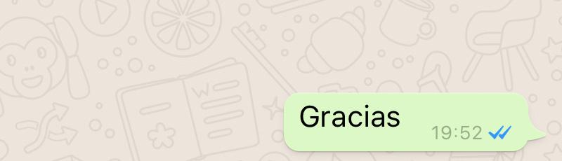 Doble check de WhatsApp