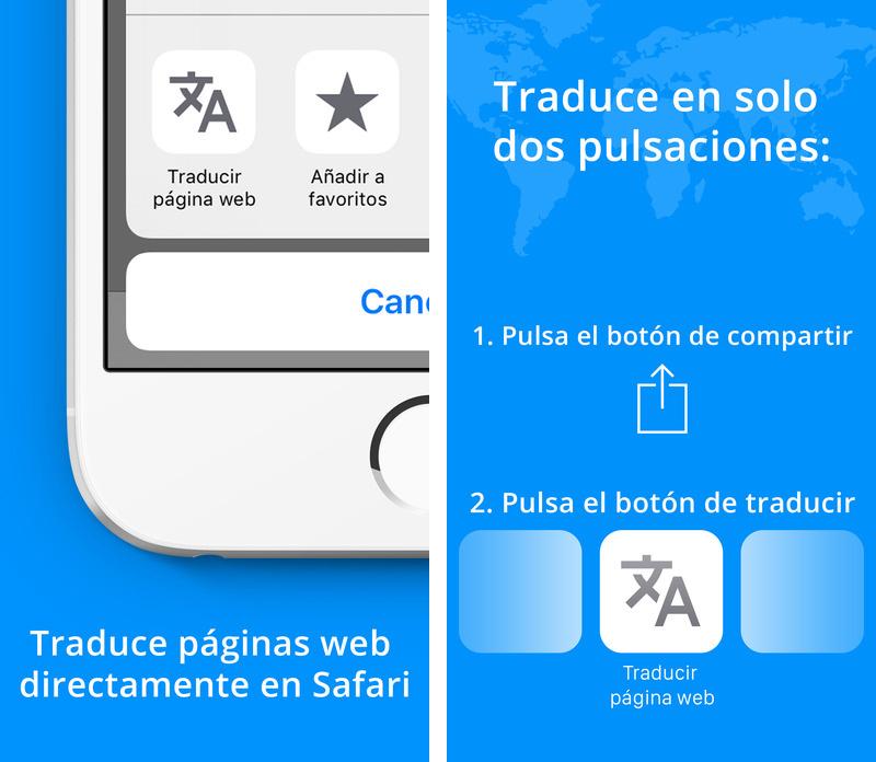 Website Translation for Safari