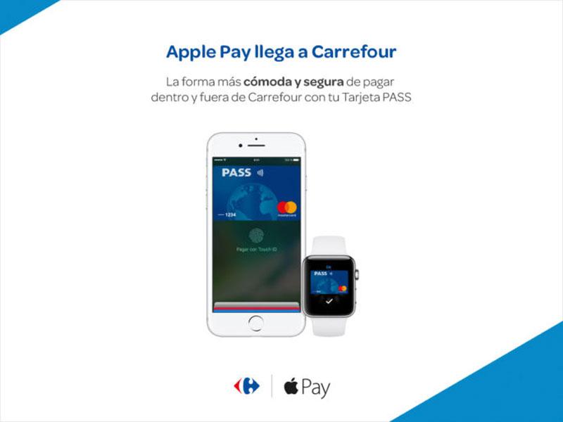 Apple Pay en Carrefour