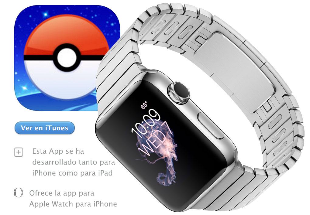 Apple Watch para Pokemon Go