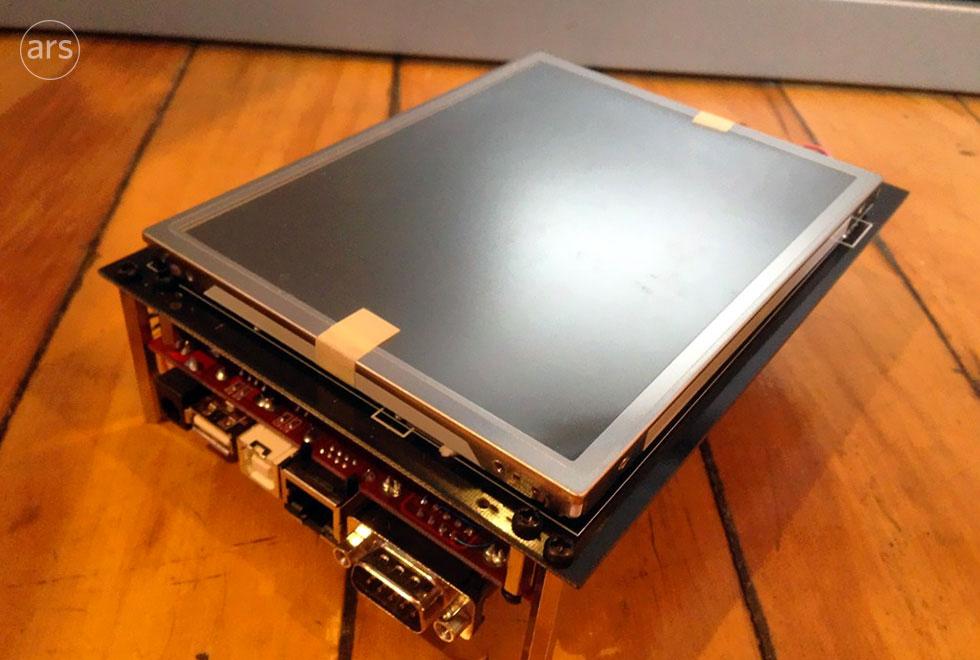 Uno de los primeros prototipos del iPhone