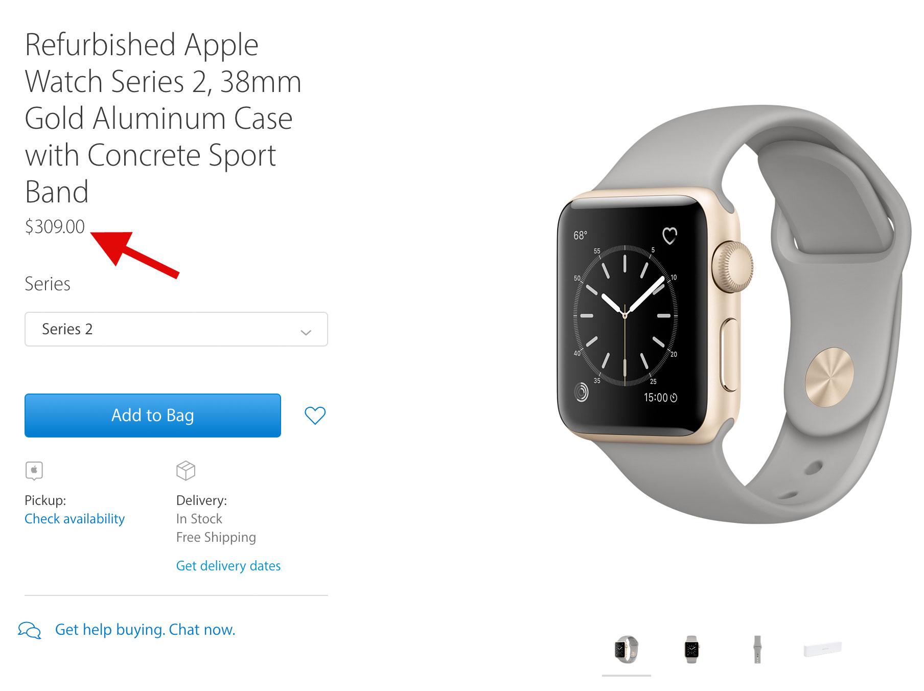Apple Watch reacondicionado