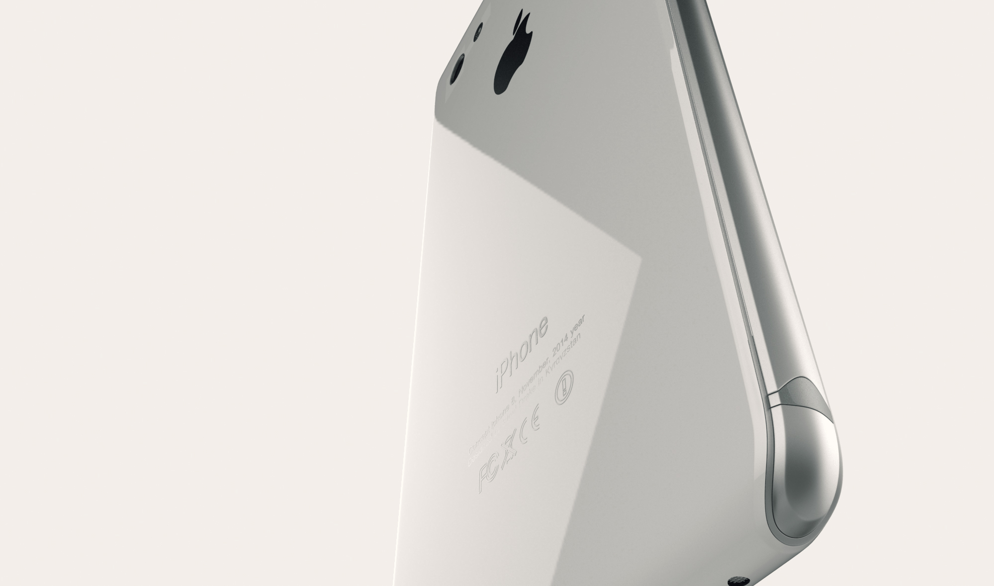 Concepto de boceto de iPhone 8