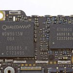 Chip de Baseband del iPhone 5, fabricado y diseñado por Qualcomm