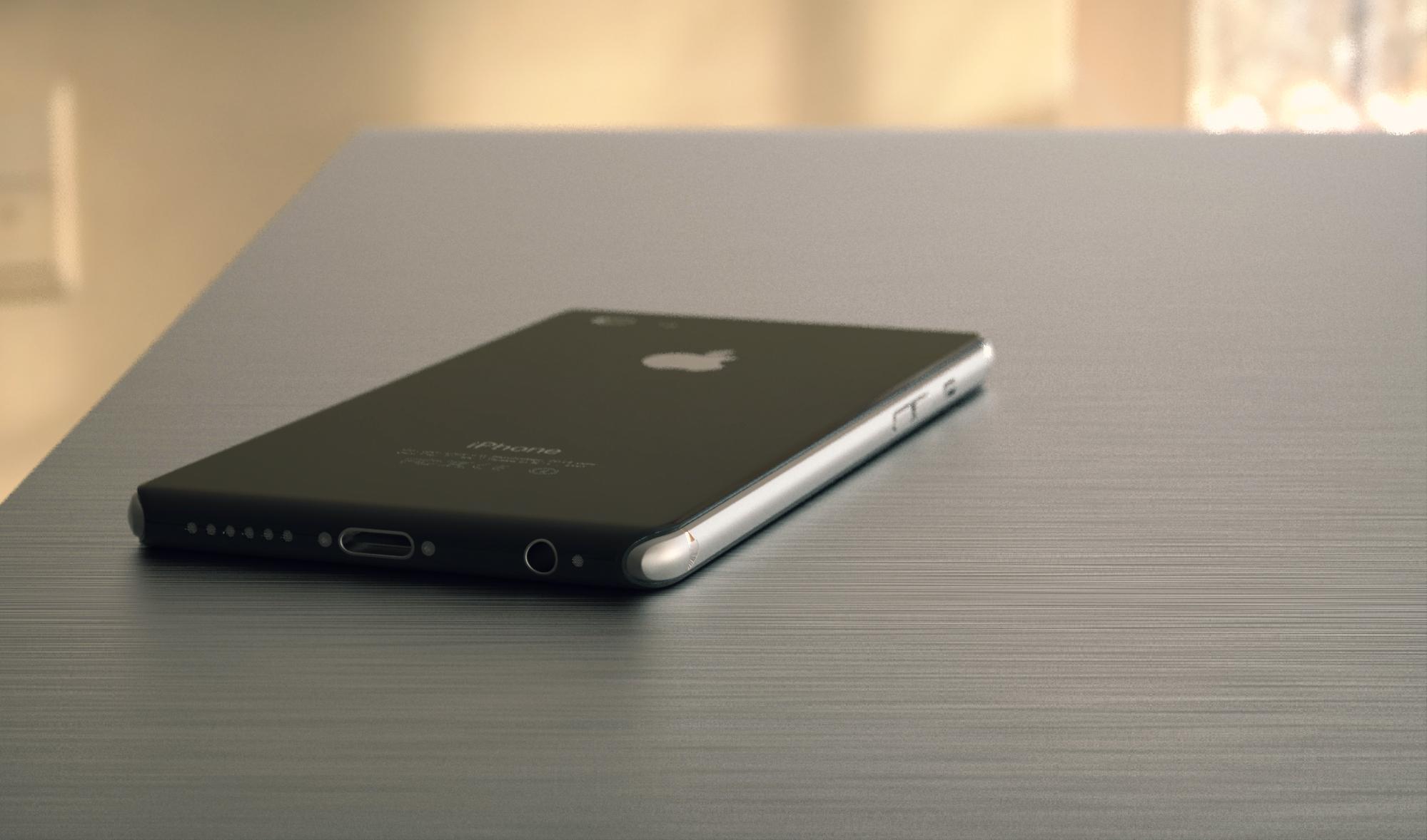 Concepto de diseño de iPhone 8