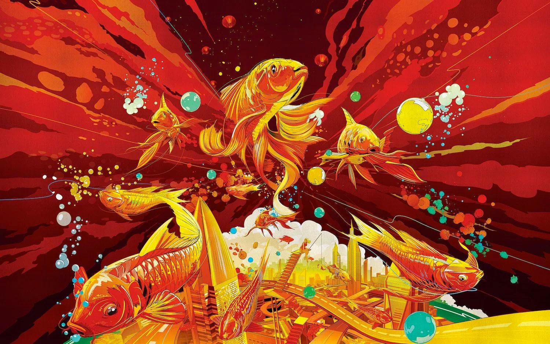 Fortune Flows de Jiang Shan