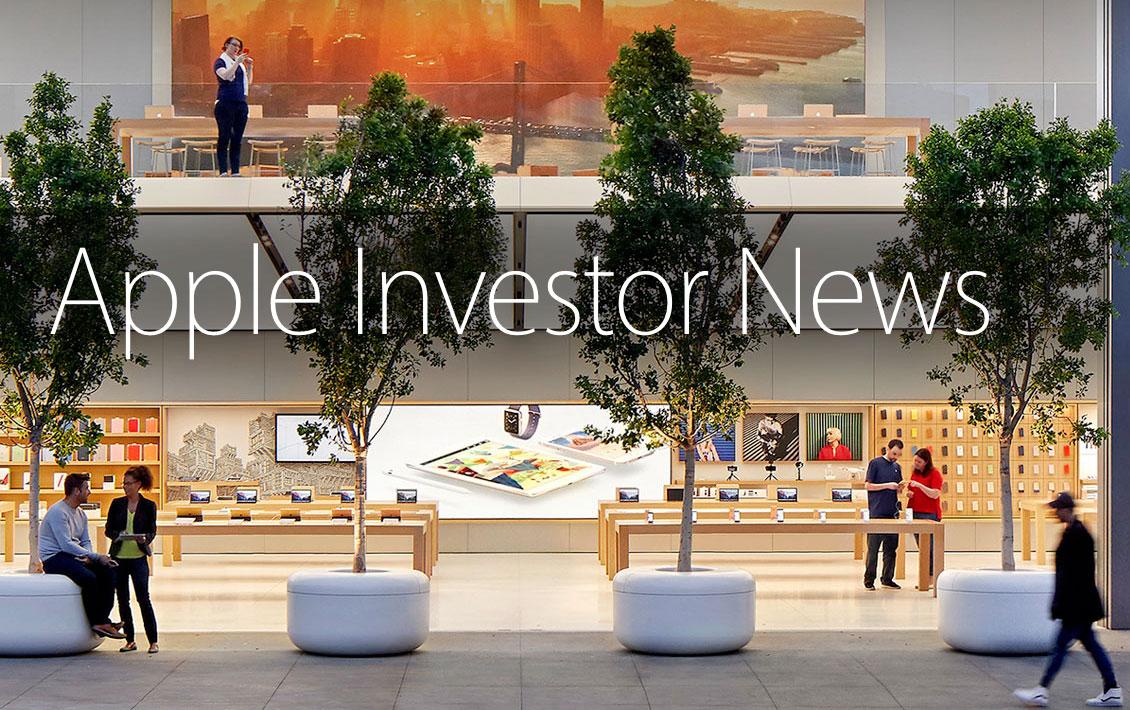 Información para Inversores de Apple
