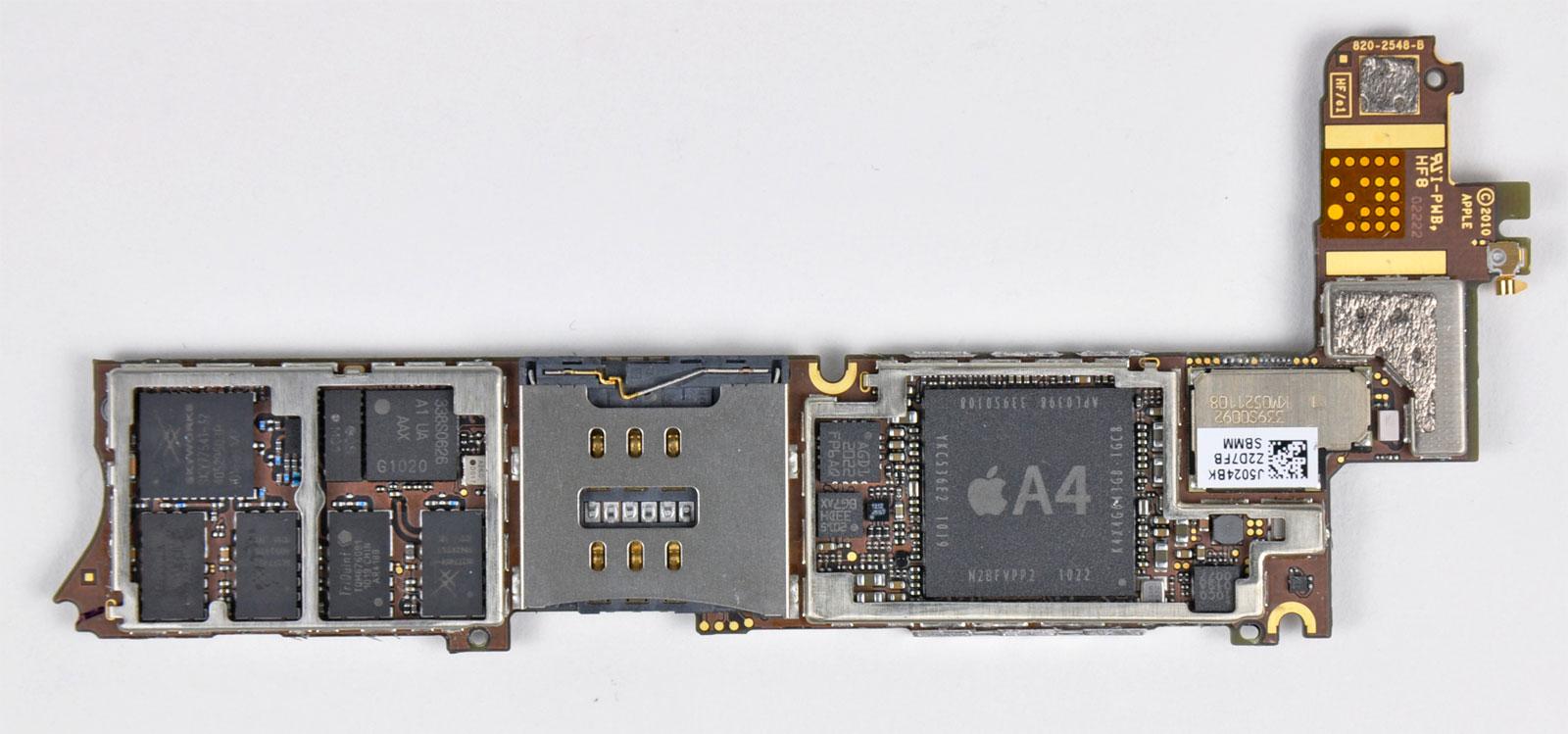 Placa base del iPhone 4