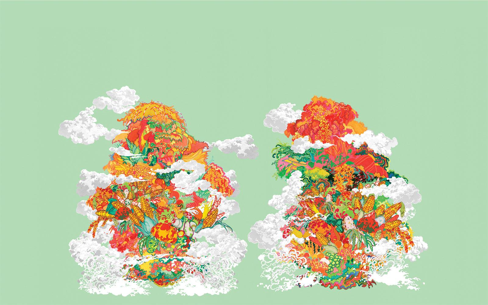Rich Harvest de Zhou Fan