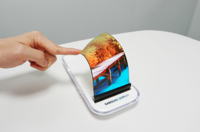 Pantalla flexible de Samsung™ Display