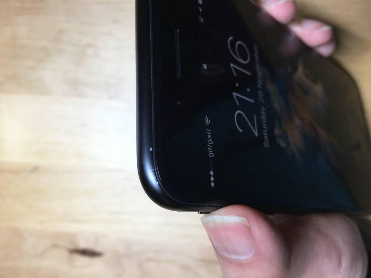 iPhone negro mate que pierde el color