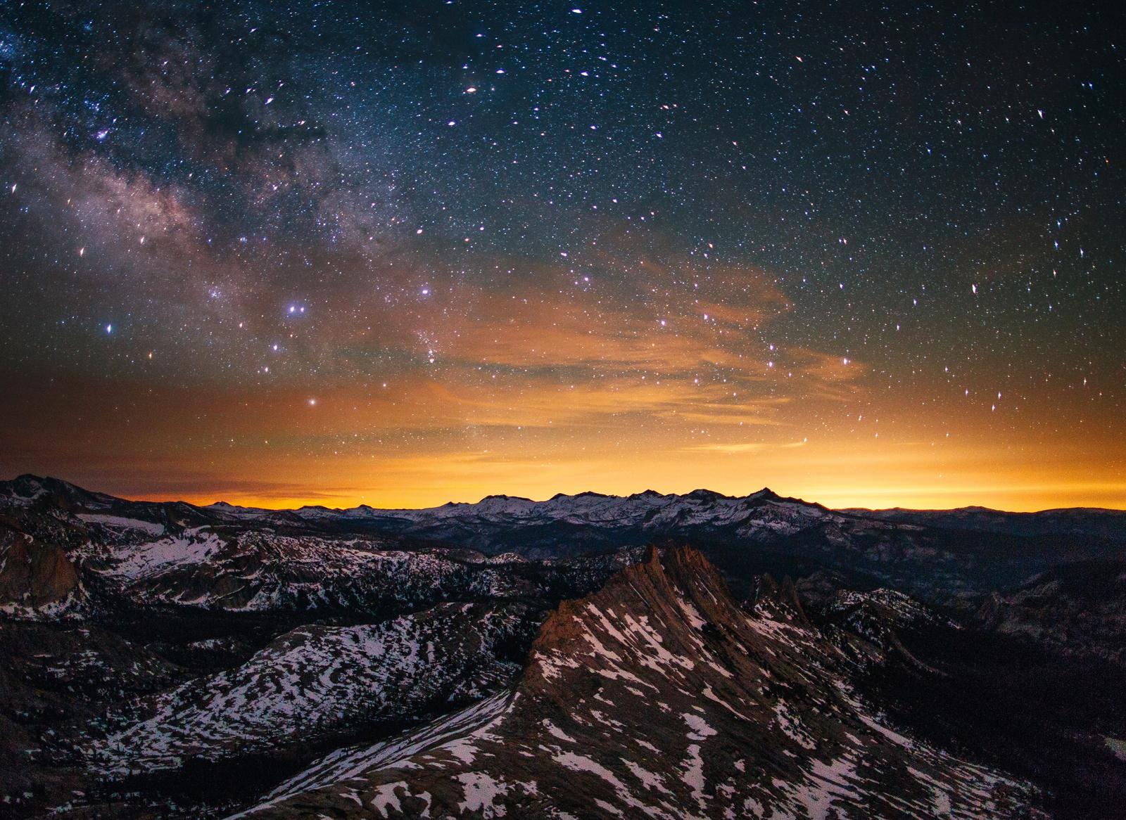 Estrellas de Yosemite