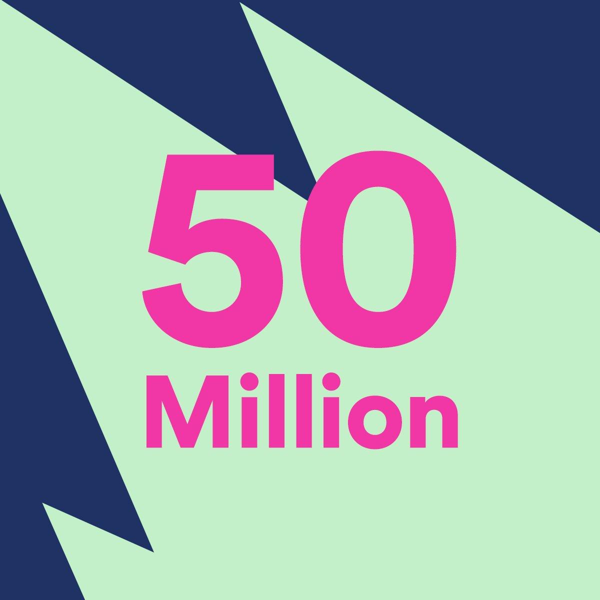 50 millones de suscriptores en Spotify