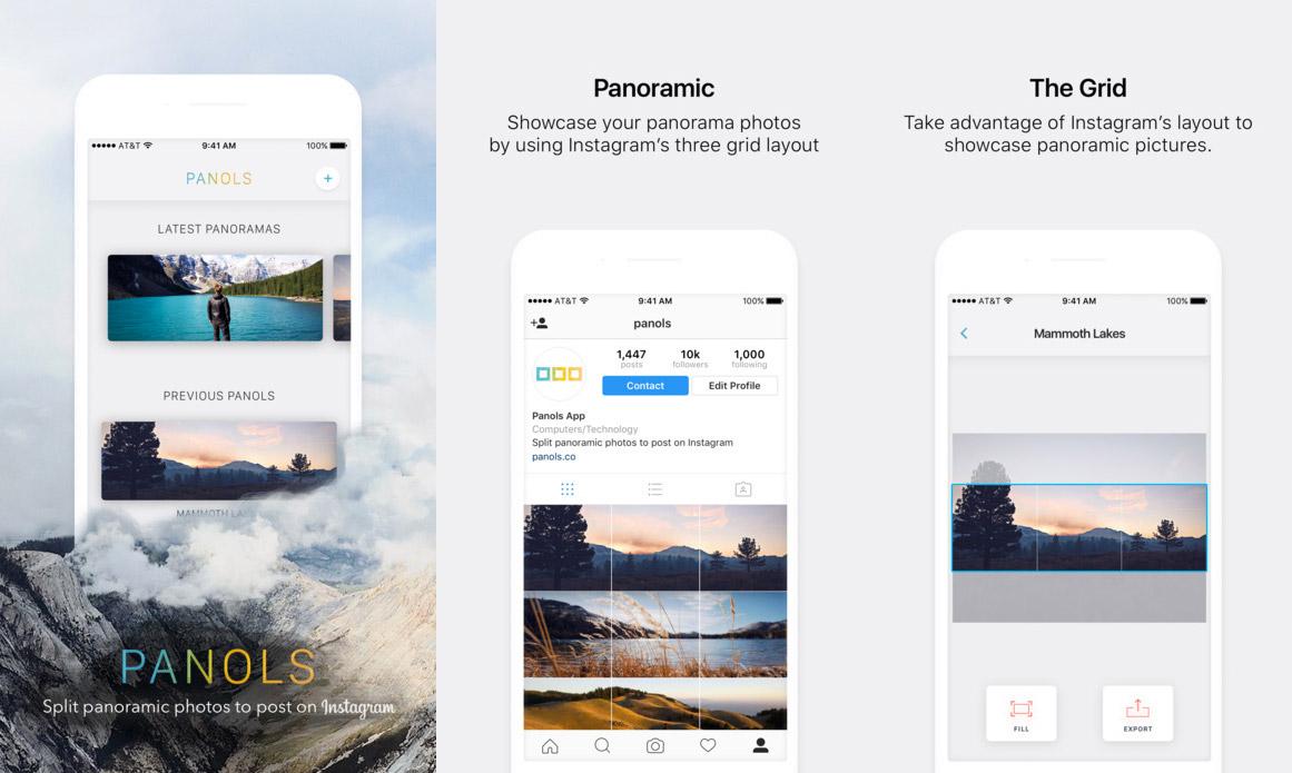 Panols en la App Store