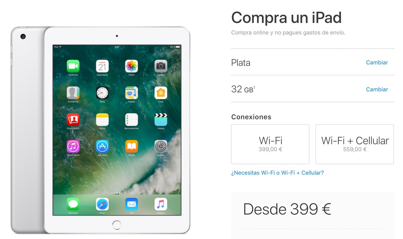 Nuevo iPad con CPU A9 ya a la venta