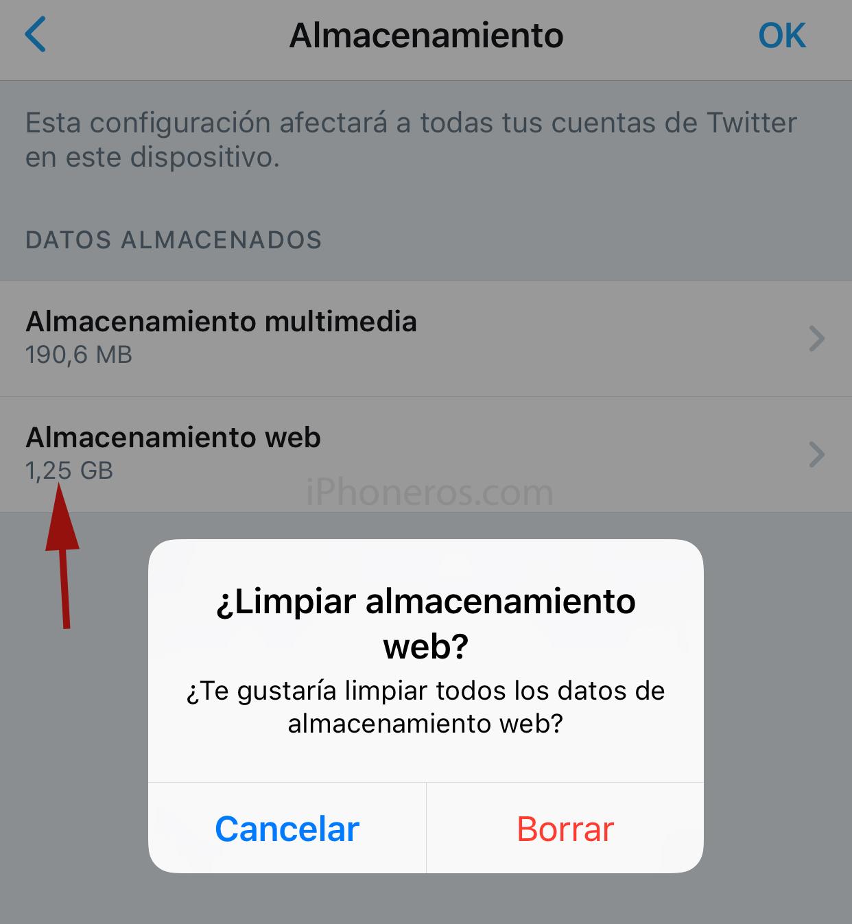Apps mas pesadas instaladas en iOS