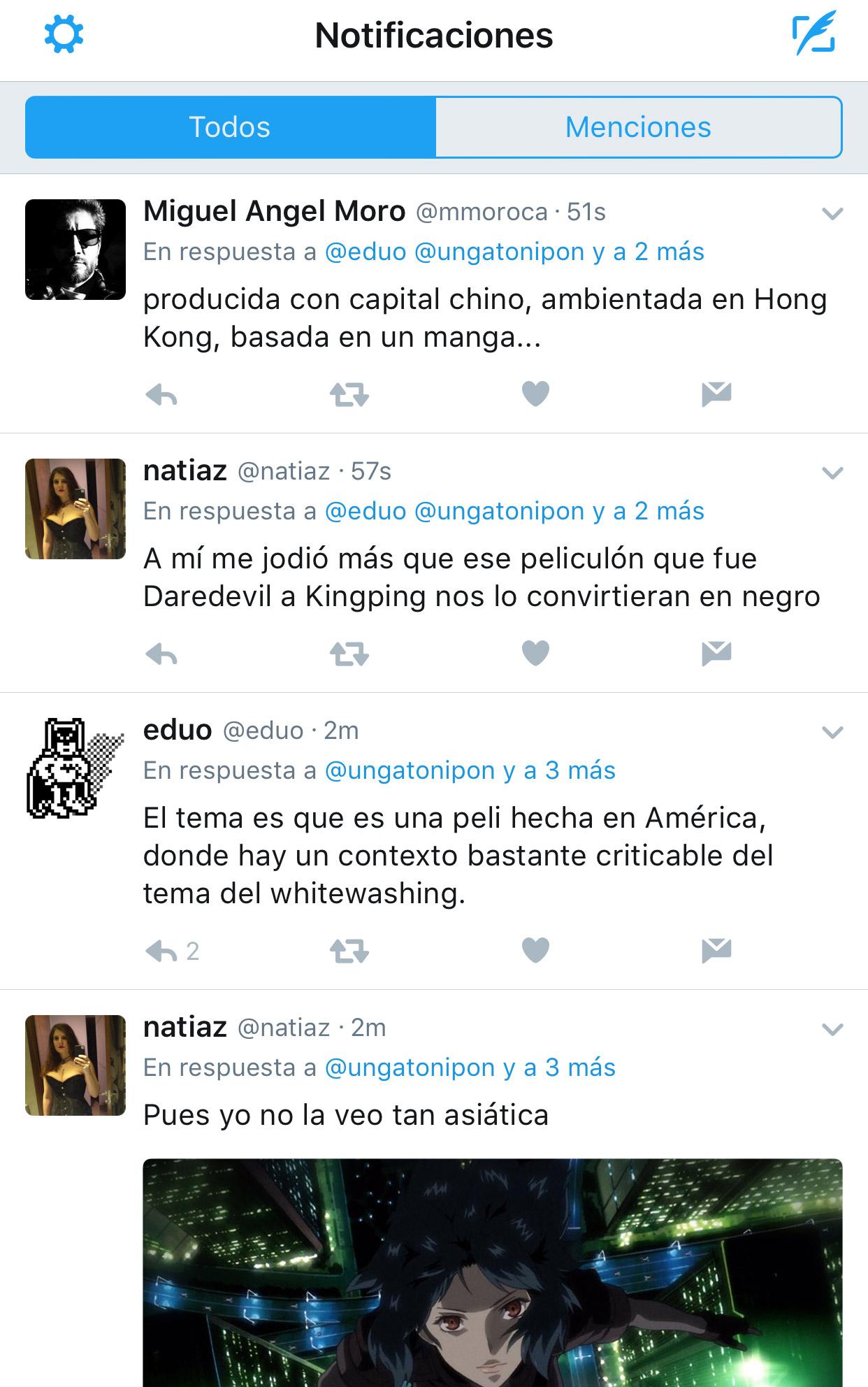 Menciones en Twitter