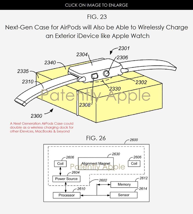 AirPords Case cargando un Apple™ Watch