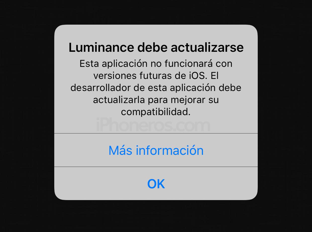 Aviso de soporte para app de 32 bits