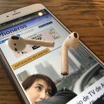 AirPods sobre iPhoneros.com
