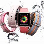 Apple Watch en agua