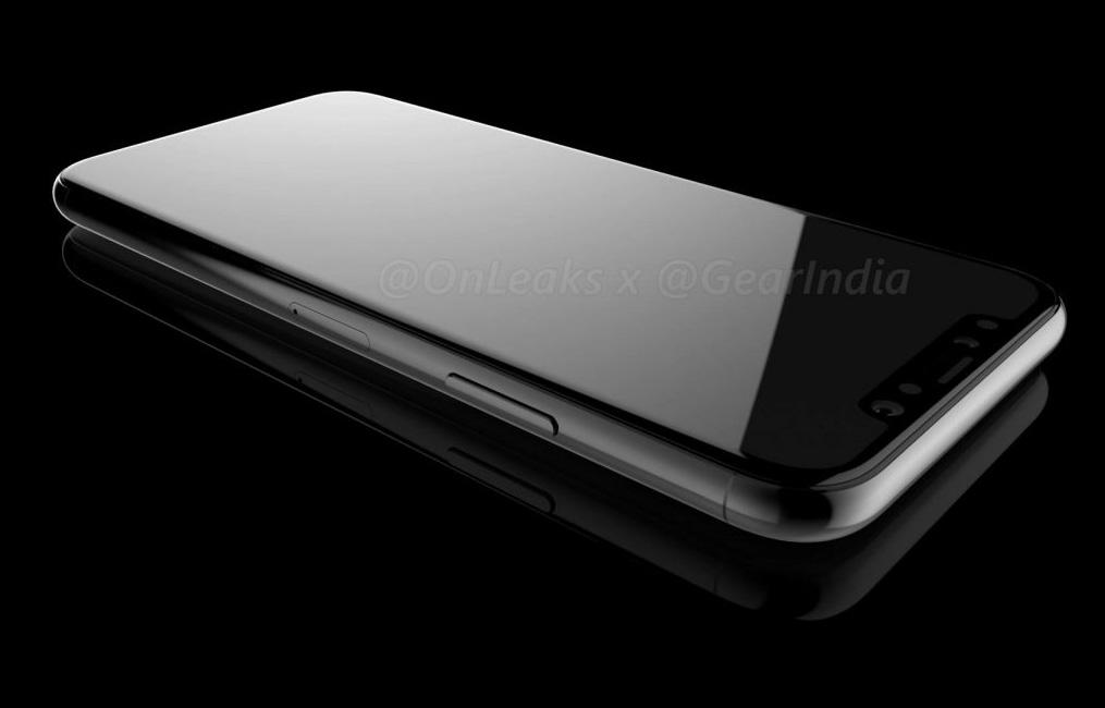 Render del iPhone ocho fundamentado en prototipos CARD filtrados