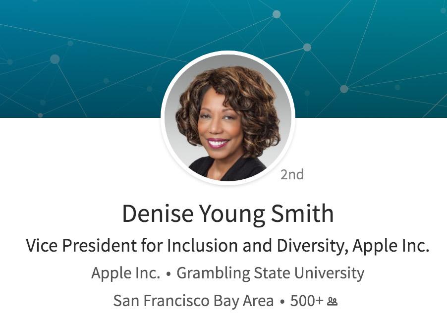 Página de LinkedIn de Denise Young