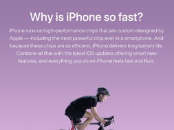 Por qué el iPhone es tan rápido